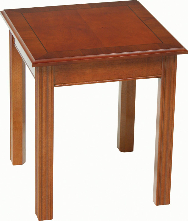 """Großer """"Chippendale 24'' Square Table"""" Sofatisch"""