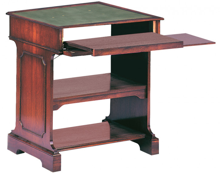 Computer-Tisch in Mahagoni   auch in Eibe