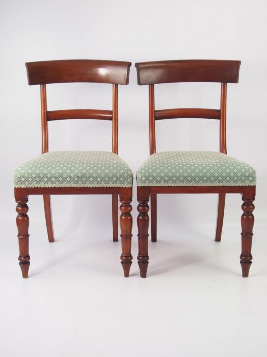 Ein Paar Victorian Mahagoni Stühle Original