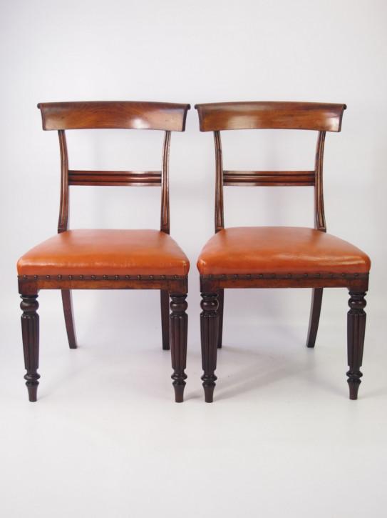 Ein Paar Vicktoianische Mahagoni Stühle    ca 1860