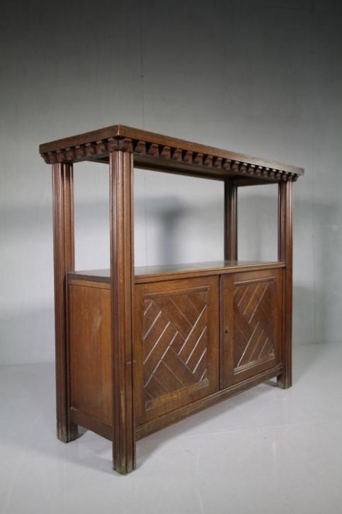Antiker Buffettisch Sideboard Eiche Original  1870