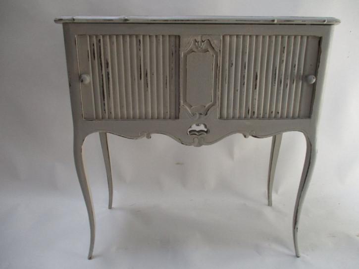 Französischer eleganter Beistelltisch/Nachttisch von ca. 1900
