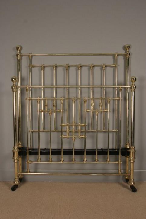 Stilvolles viktorianisches Messing Bett aus dem 19.JH