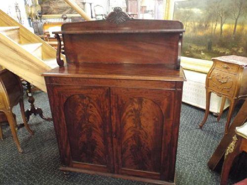 Viktorianisches original antikes Sideboard Massivholz Mahagoni 1860