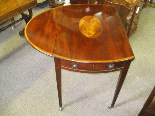 Georgianischer antiker Pembroke Table aus Mahagoni, 1800