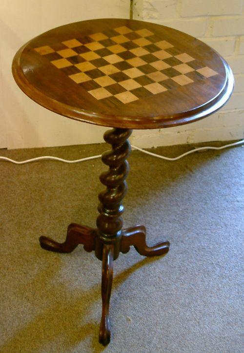 Original Viktorianischer Spieltisch, Mahagoni, 1880, antik
