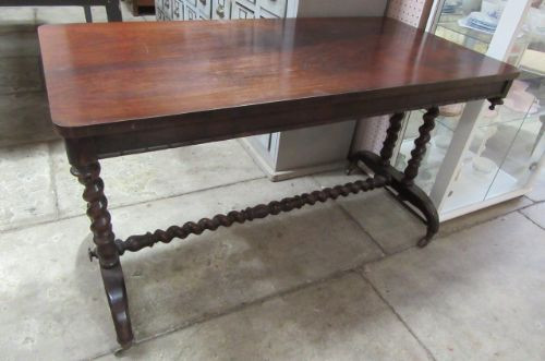 Antiker Victorian Palisander Keilrahmen Tisch aus der Mitte des 19.JH