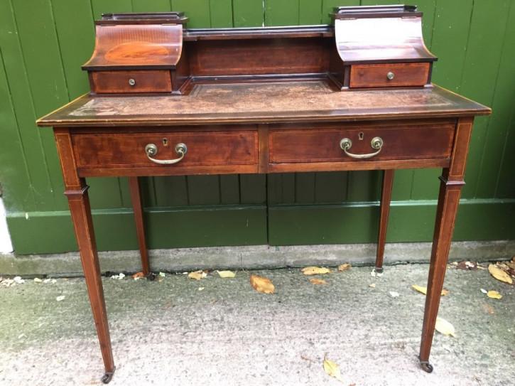 Edwardianischer antiker Lady Schreibtisch, Mahagoni, spätes 19./frühes 20. Jahrhundert