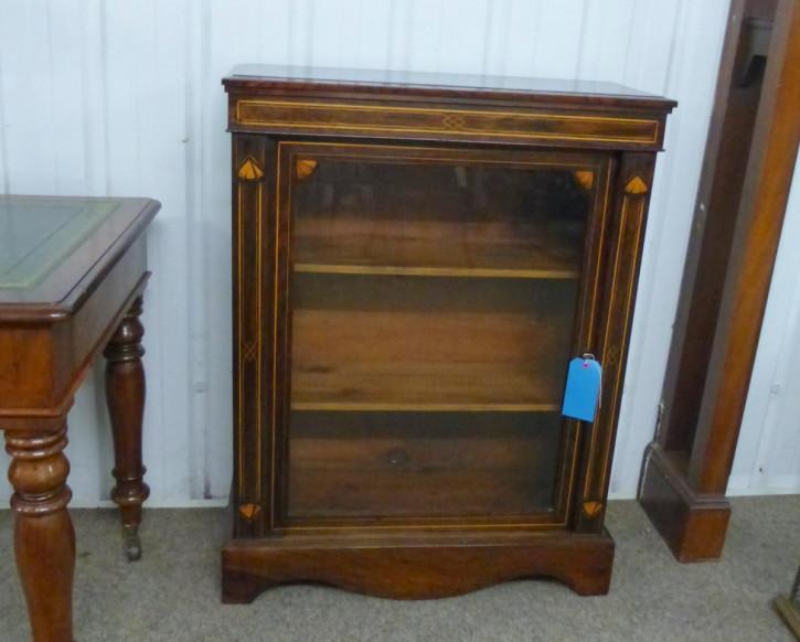 Original antikes Edwardian Bookcase, Mahagoni