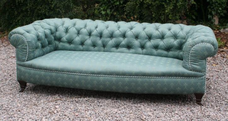 Schönes viktorianisches Chesterfield Sofa aus der 2. Hälfte des 19.JH