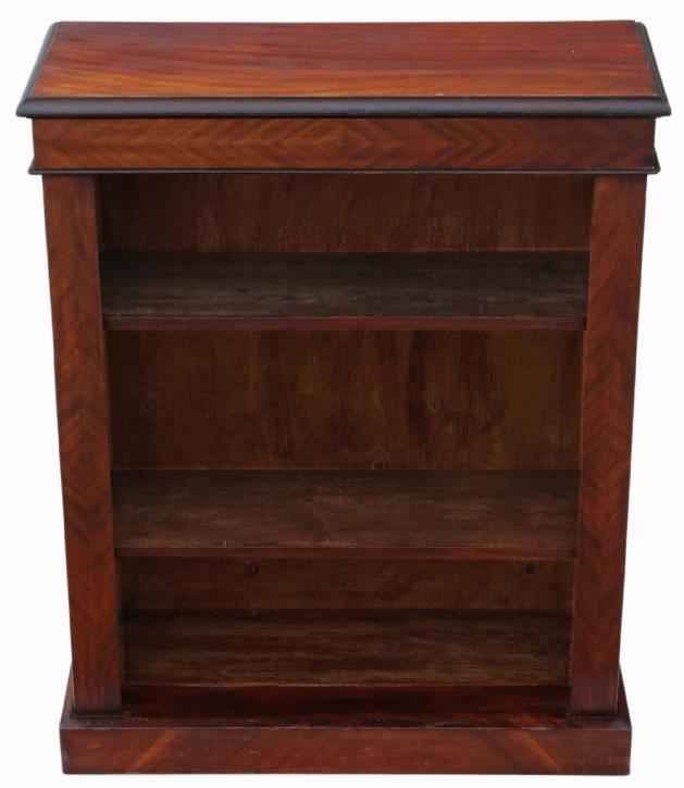 Viktorianisches verstellbares Bücherregal aus Mahagoni von ca. 1890