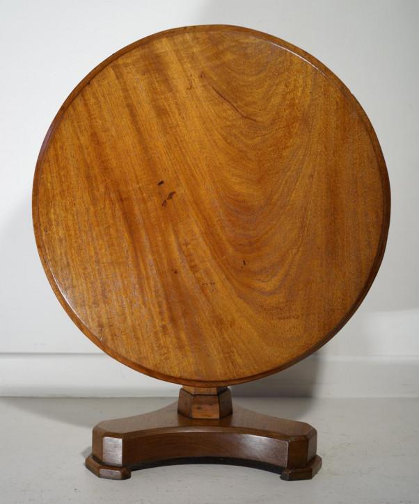 Original antiker Mahagoni Beistelltisch Klapptisch 1920
