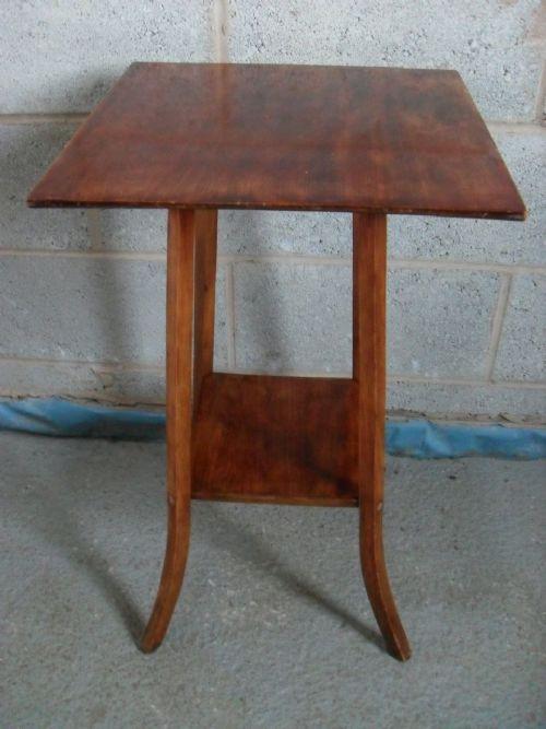 Original edwardianischer Mahagoni Beistelltisch 1850