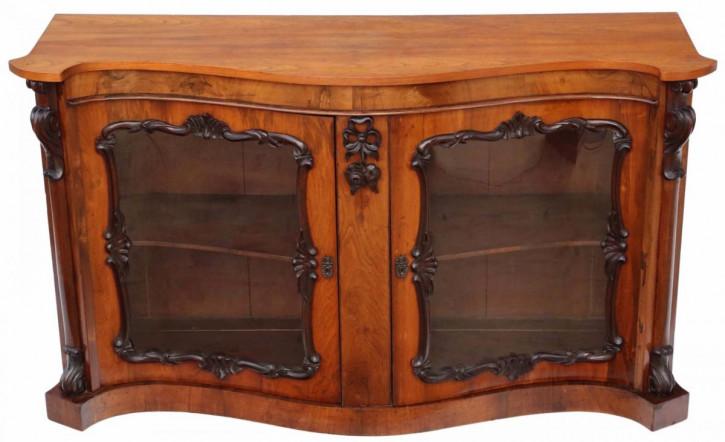 Viktorianisches massives Palisander Mahagoni Sideboard original antik 1870