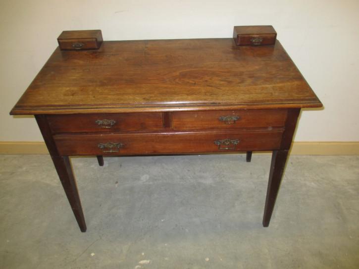 Original antiker Teak Schreibtisch englisch massiv 1890