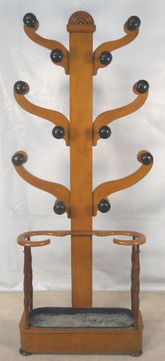 Original viktorianische antike Garderobe Eiche Massivholz englisch 1860