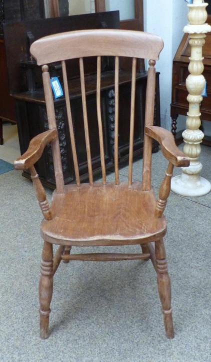 Antiker Englischer Armstuhl Stuhl im Landhausstil aus dem 19.JH