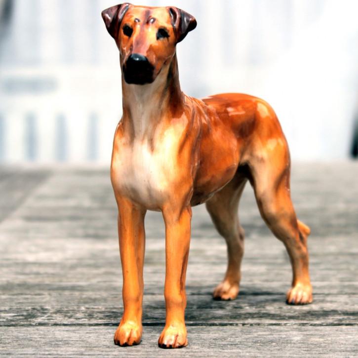 Englische Antike Royale Doulton Figure einer Deutschen Dogge von ca. 1930
