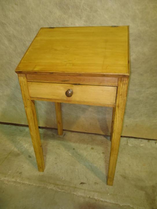 Original Antiker Englischer Viktorianischer Kiefern Schreiber Schreibtisch aus dem 19. JH