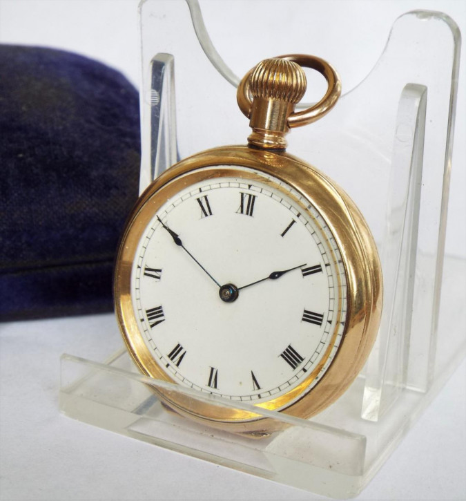 Englische Antike Waltham Fob Uhr von ca. 1903