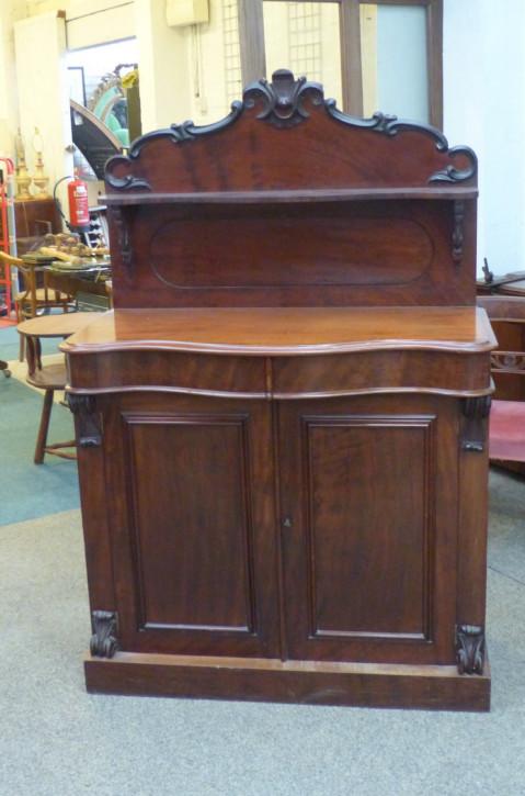 Viktorianisches original antikes Mahagoni Sideboard englisch von ca. 1850