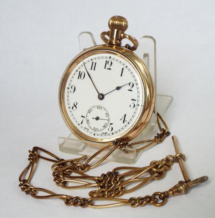 Antike Schweizer Taschenuhr der 1930er Jahre