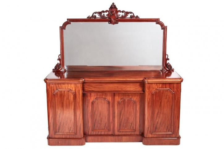 Feines Antikes Englisches Viktorianisches Mahagoni Sideboard ca. 1860