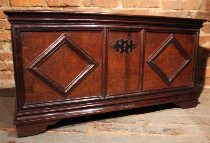 Original Englische Antike Kiste ca. 18. Jahrhundert