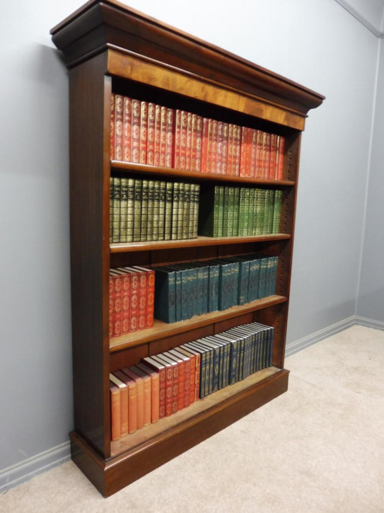 Wunderbares antikes Englisches Viktorianisches Mahagoni Bücherregal ca. 1880