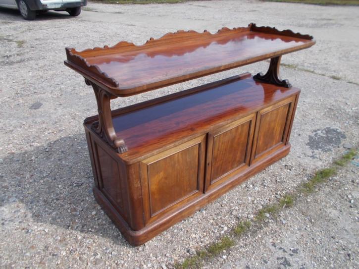 Original antikes Mahagoni Sideboard englisch 19. Jh