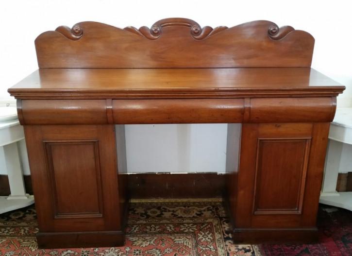 Original antikes viktorianisches Mahagoni Sideboard England ca 1850