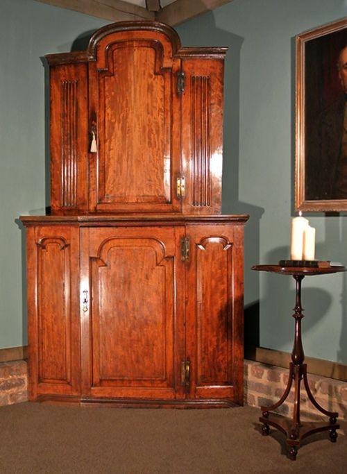 Original antiker Mahagoni Wohnzimmerschrank englisch ca 1790