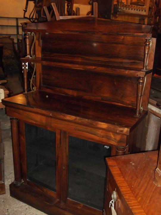 Feines englisches antikes Palisander Sideboard 19. Jh