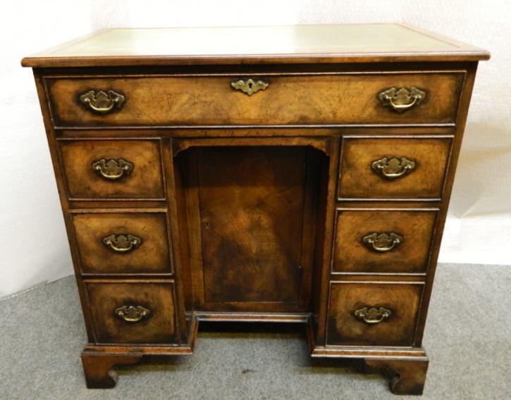 Original antiker Mahagoni Schreibtisch englisch 1910