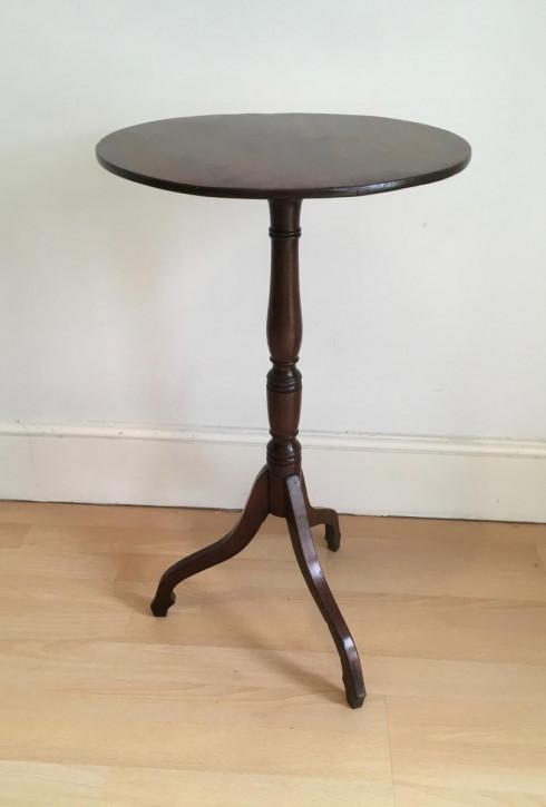 Georgianischer original antiker Mahagoni Beistelltisch Tisch britisch ca 1800