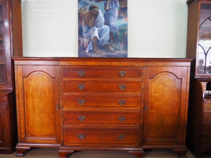 Stilvolles viktorianisches antikes Mahagoni Sideboard englisch ca 1890