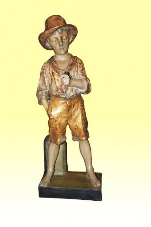 BezauberndeAntike Österreichische Goldscheider Figur ca. 1900