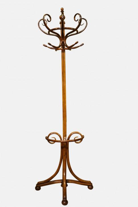 Fantastischer antiker Bugholz Kleiderständer englisch ca 1880