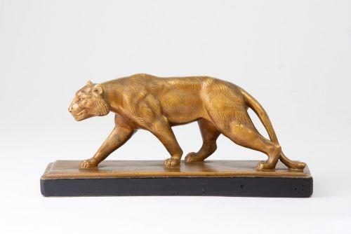 Französische Antike JB Paris Löwenfigur