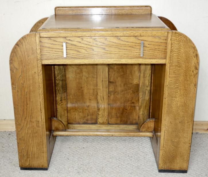 Art Deco Antiker Eichen Schreibtisch ca. 1930