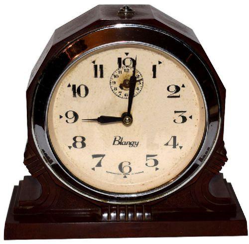 Englische Antike Art deco bakelite Uhr ca. 1930