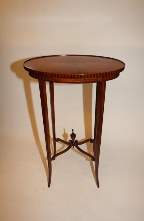Antiker original britischer Beistelltisch Satinholz ca 1870