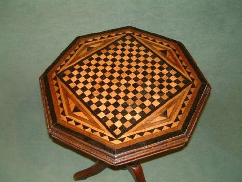 Viktorianischer Mahagoni Beistelltisch original antik ca 1850