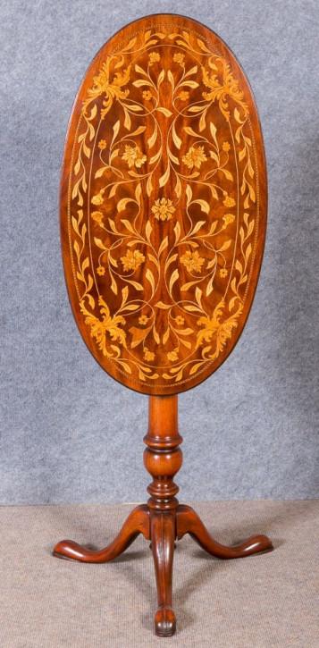 Antiker niederländischer Beistelltisch Mahagoni ca 1910