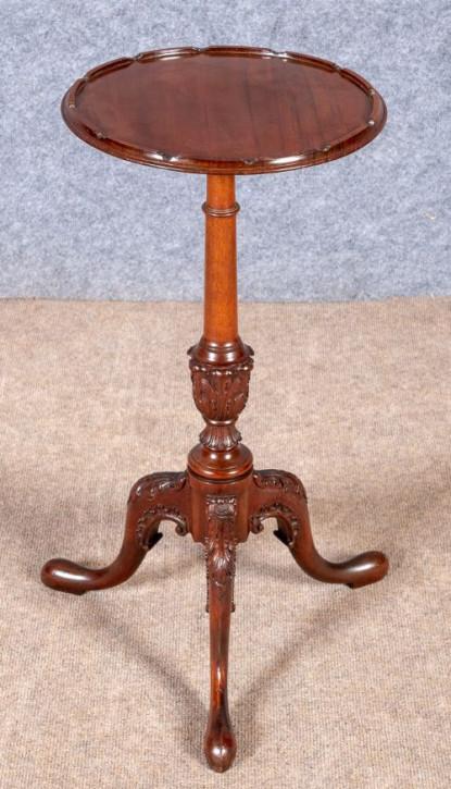 Edwardianischer antiker Mahagoni Beistelltisch englisch ca 1910