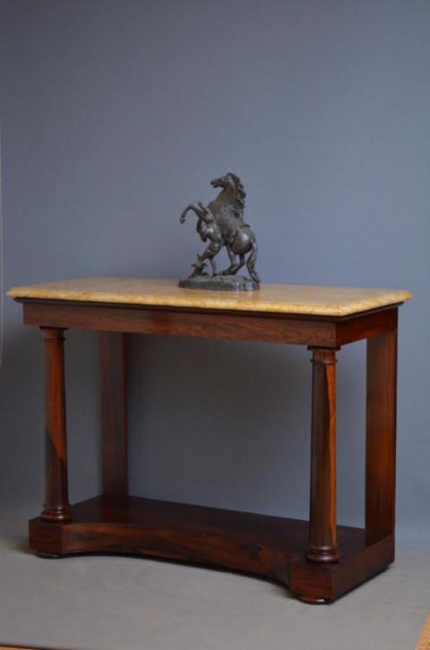 Regency Palisander Beistelltisch original antik ca 1825