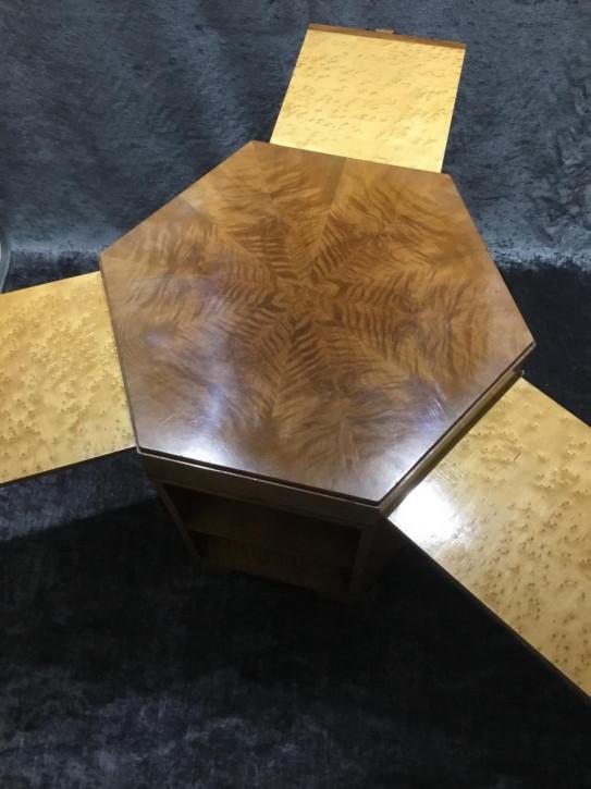 Art Deco Ahorn Tisch Sofatisch Beistelltisch antik englisch ca 1930