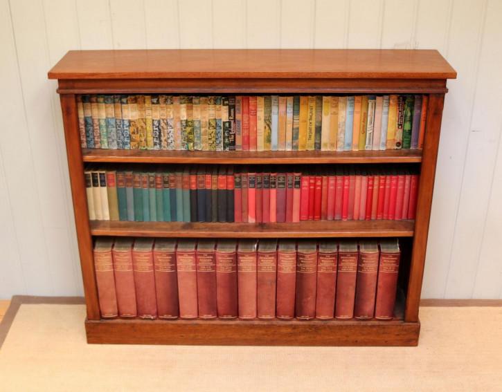 Viktorianisches Mahagoni Bücherregal britisch antik ca 1880