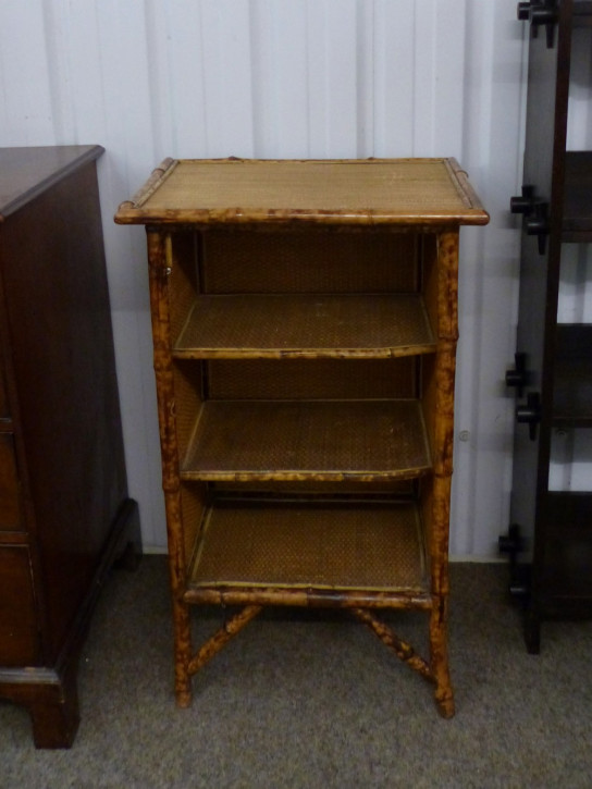 Original antikes Bambus Bücherregal englisch ca 1920