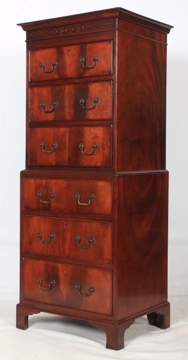 Antike Mahagoni Kommode original britisch ca 1920